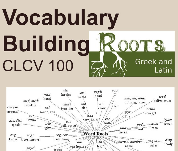 Vocab Building Roots