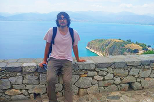 Alex Augustynski makes the most of a prestigious student summer program in Greece